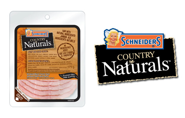 Schneiders Country Naturals Smoked Uncured Black Forest Ham