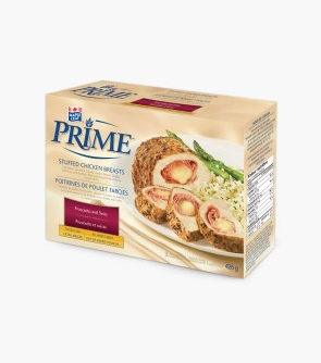Maple Leaf Prime® Stuffed Chicken Breasts - Prosciutto and Swiss