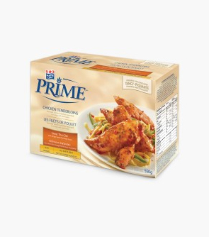 Maple Leaf Prime® Chicken Tenderloins - Sweet Chili Thai with a packet of Tangy Sweet Finishing Sauce