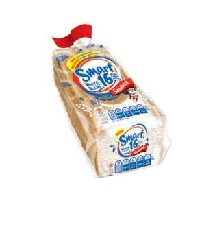 Smart™ White with 16 Whole Grains Sandwich