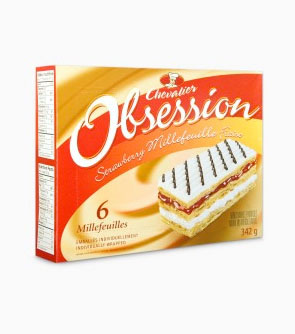 Chevalier™ Obsession™ Strawberry Millefeuille 6 Millefeuilles