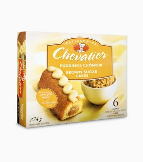 Chevalier™ Brown Sugar Cakes 6 Cakes