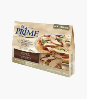 Maple Leaf Prime® Naturally®* Fully Cooked and Sliced Chicken Breasts 150 g