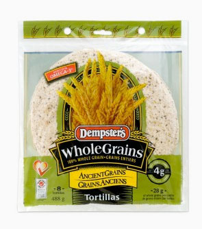 Dempster's® WholeGrains™ Ancient Grains Tortillas 10 in.