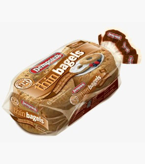 Dempster's® Thin Bagels - Multigrain
