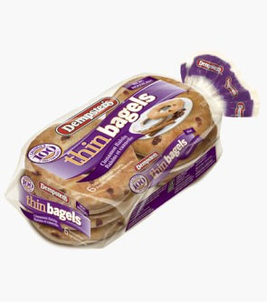 Dempster's® Thin Bagels - Cinnamon Raisin