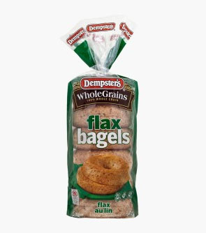 Dempster's® WholeGrains™ Flax Bagels