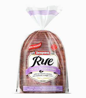 Dempster's® Rye Harvest Pumpernickel Loaf