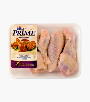 Maple Leaf Prime® Turkey Winglets & Drumettes