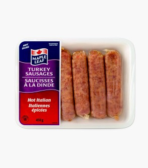 Maple Leaf® Turkey Sausages  - Hot Italian