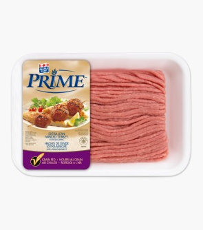 Maple Leaf Prime® Extra Lean Minced Turkey