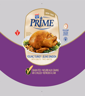 Maple Leaf Prime® Whole - Canada A - Young Turkey