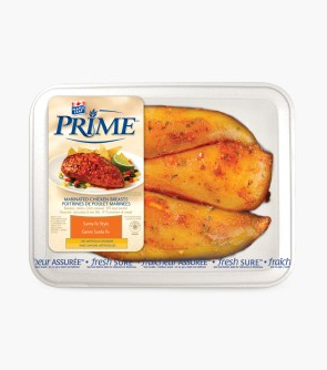 Maple Leaf Prime® Marinated Boneless Skinless Chicken Breasts - Santa Fe