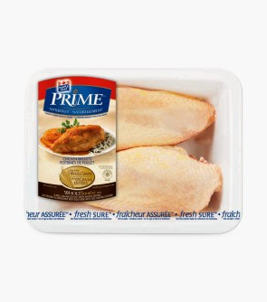 Maple Leaf Prime® Naturally®* Split Chicken Breasts
