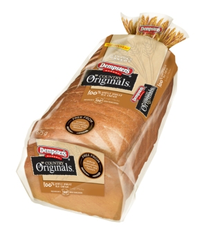 Dempster's® Country Originals™ 100% Whole Wheat Loaf