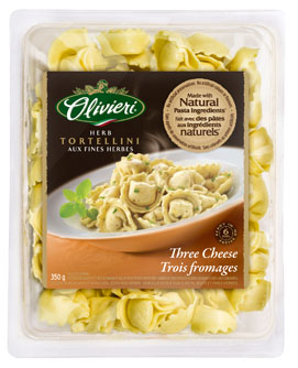 Herb Tortellini with Three Cheeses Olivieri® 350 g