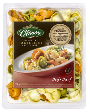 Olivieri® Rainbow Tortellini with Beef 350g or 700g