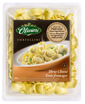 Olivieri® Tortellini with Three Cheese 350g or 700g
